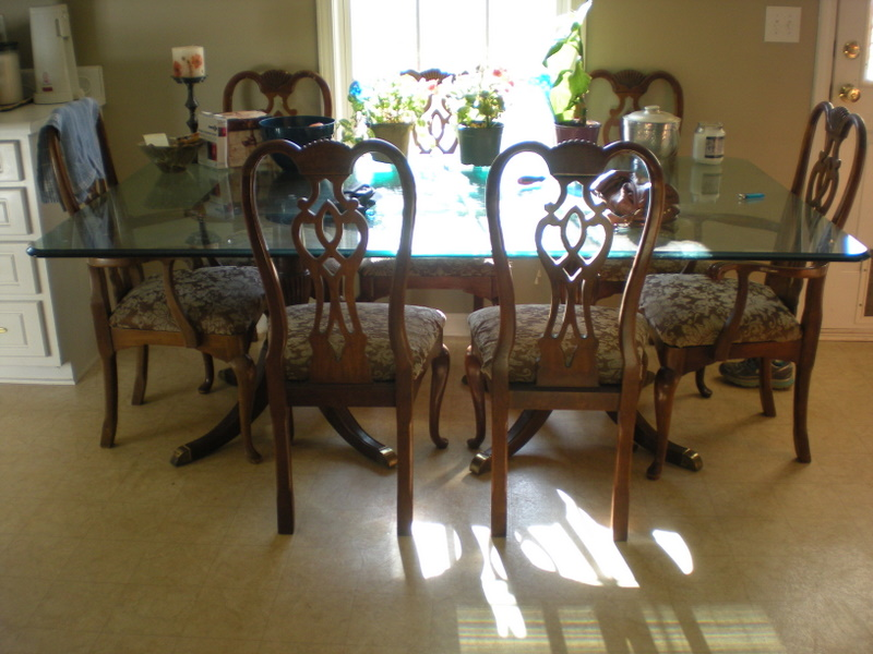 Incredible Thomasville Furniture 1950S Dining Room Table And 8 Chairs Download Free Architecture Designs Madebymaigaardcom