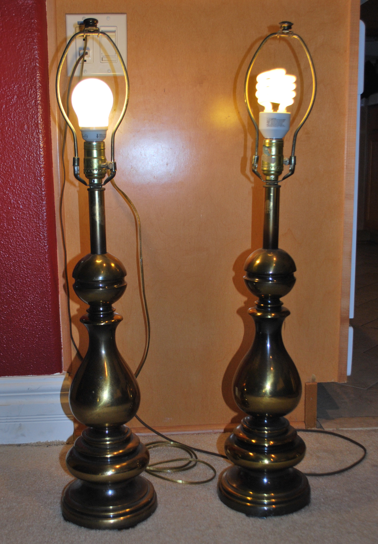 Vintage Ethan Allen Brass Lamps antique appraisal ...