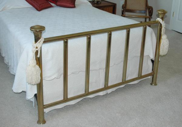 antique brass bed. Antique Double Brass Bed