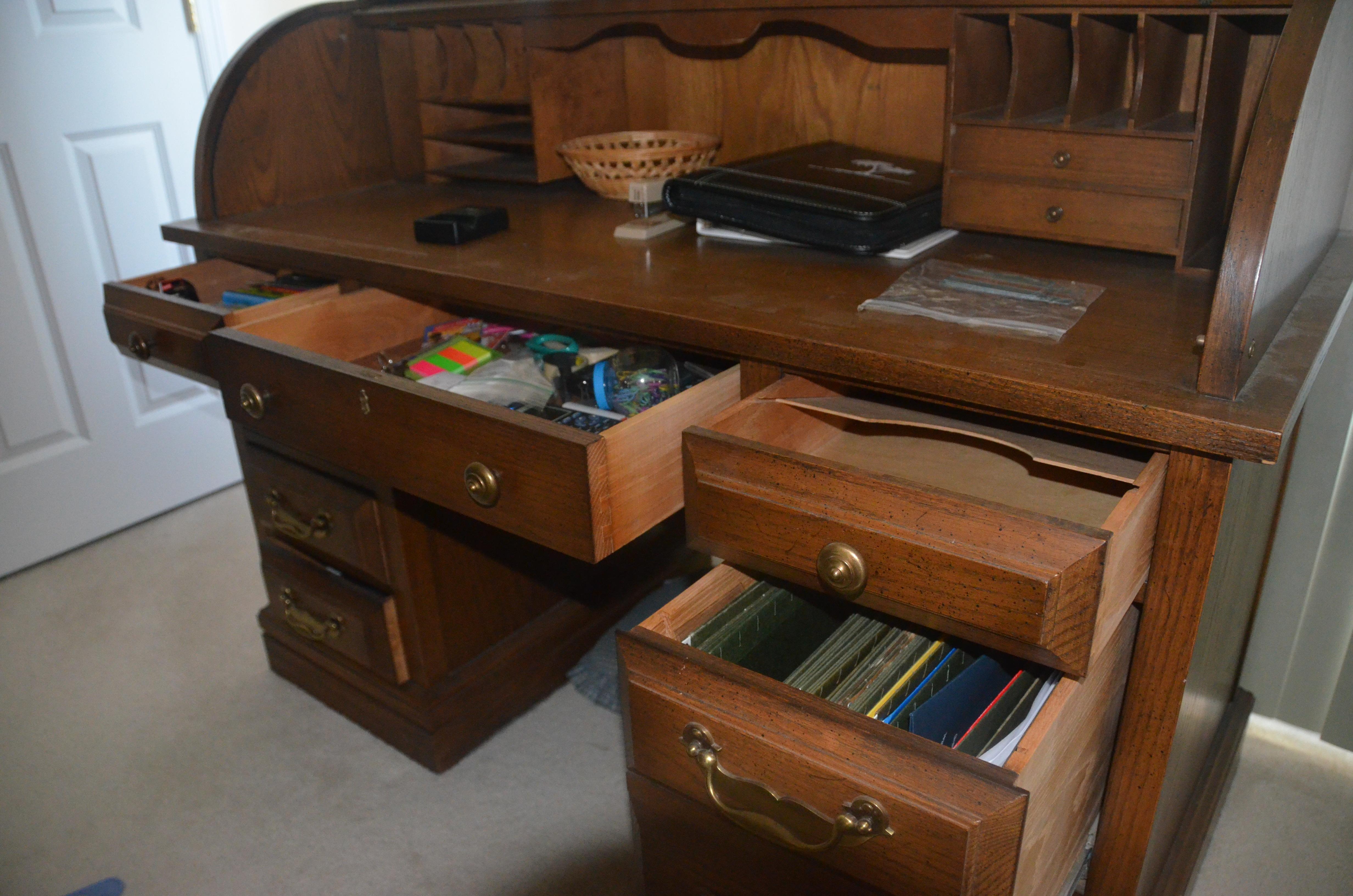 Superieur Jasper Roll Top Desk