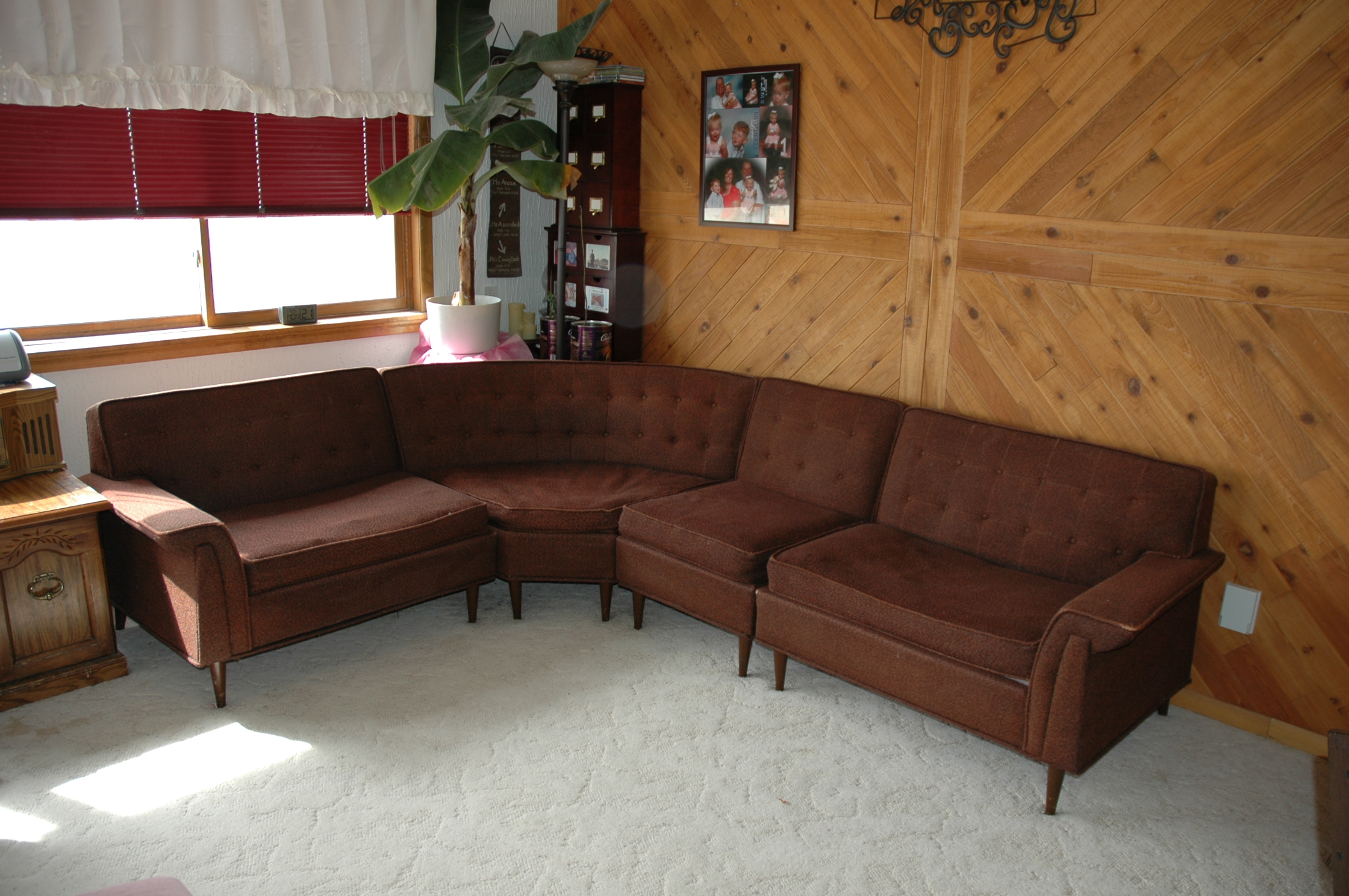 kroehler furniture galaxy designs mid centry 4 piece sectional - Kroehler Furniture