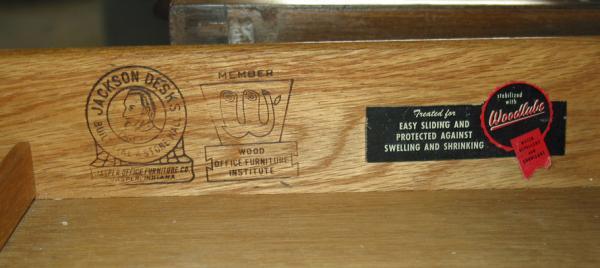 Jackson Desk By Jasper Office Furniture Co Antique