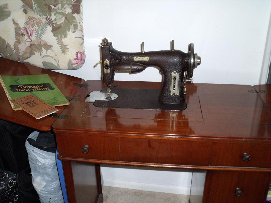 Domestic Rotary Sewing Machine Model 40 Antique Appraisal Magnificent Antique Domestic Sewing Machine