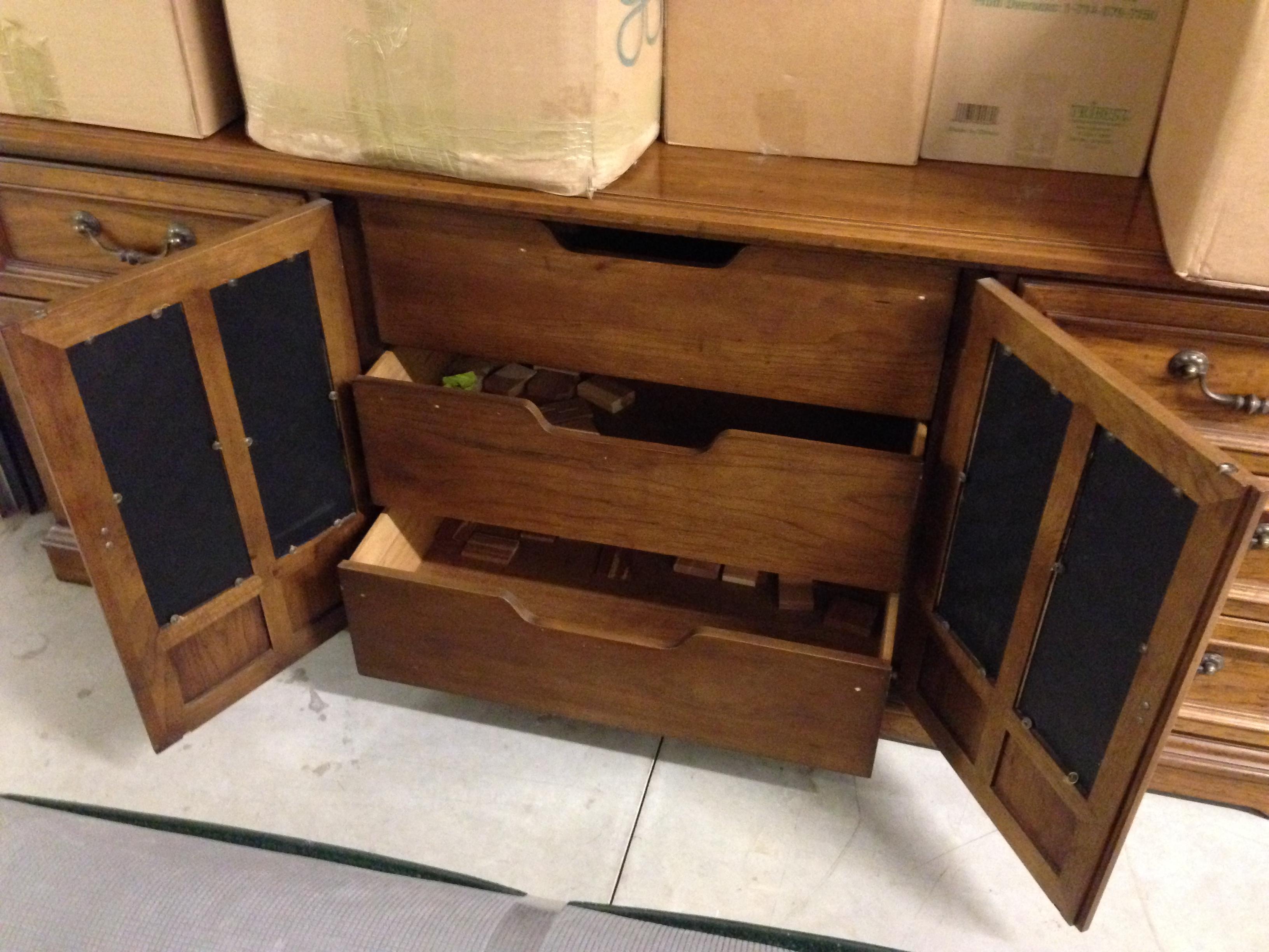 vintage drexel heritage furniture Drexel Heritage Bureau and Chest of Drawers antique appraisal  vintage drexel heritage furniture
