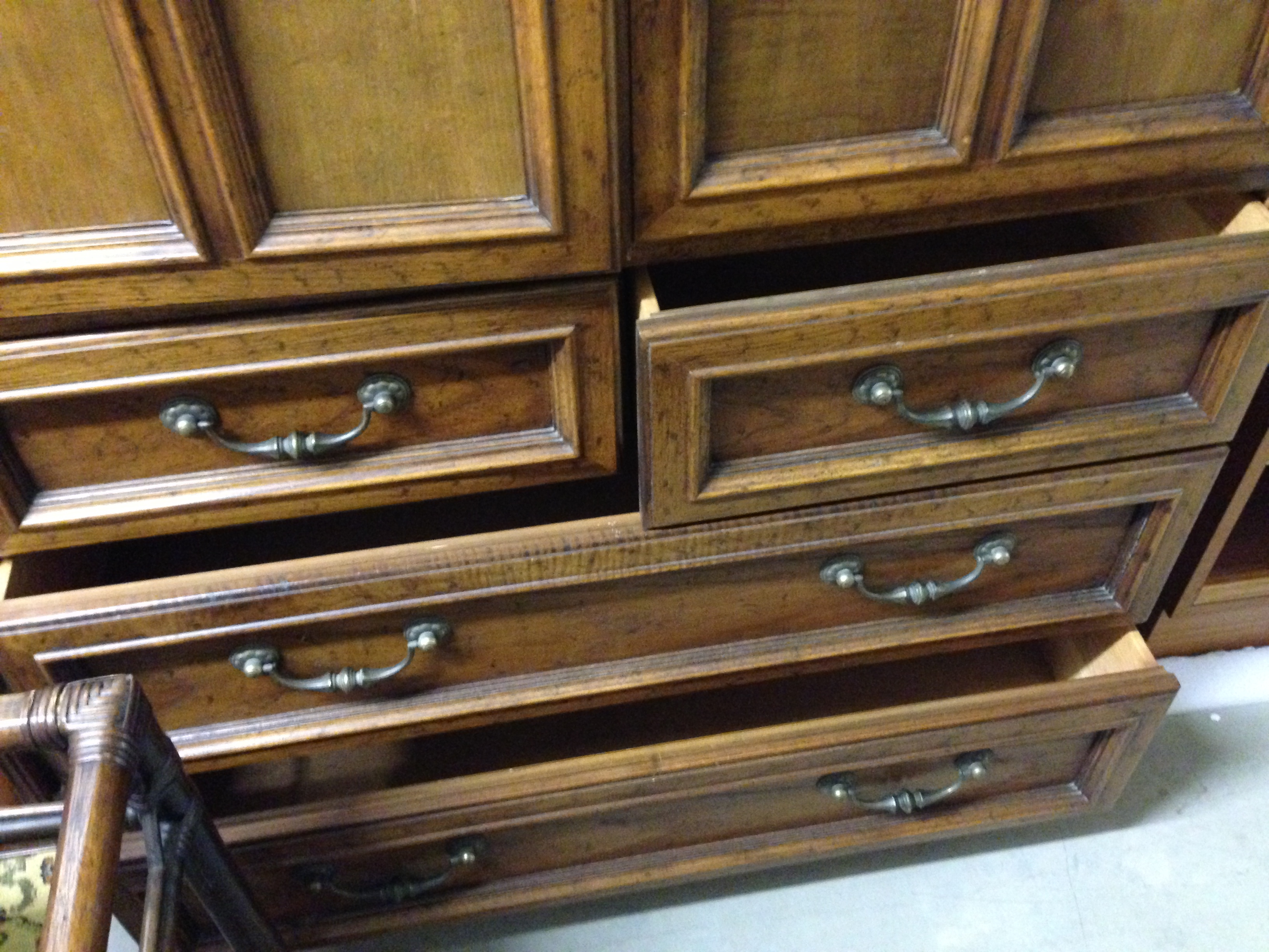 Drexel Heritage Bureau And Chest Of Drawers