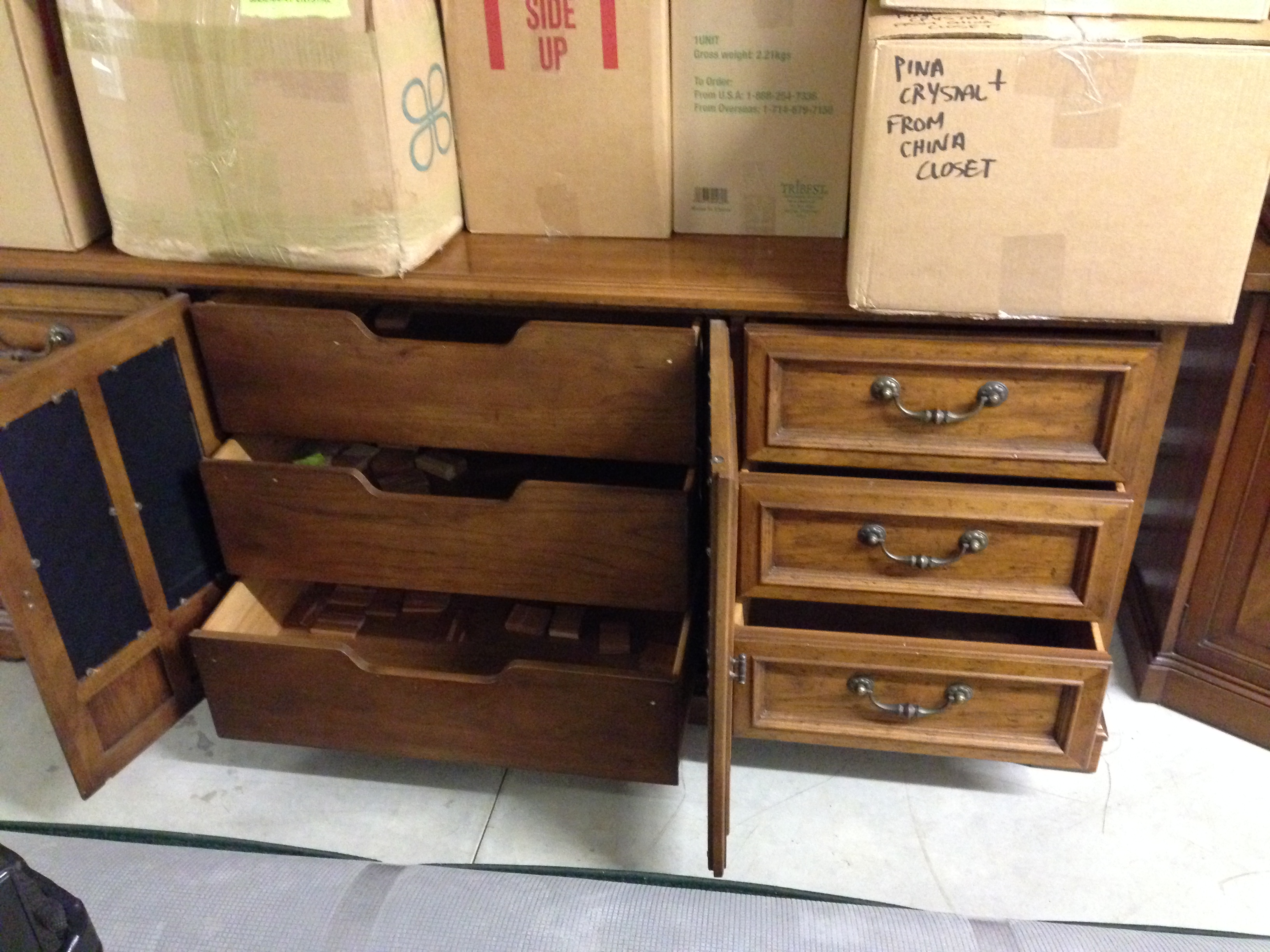 Drexel heritage bureau and chest of drawers antique - Drexel heritage bedroom furniture for sale ...