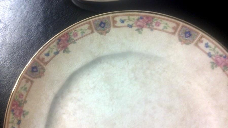 Edwin M Knowles china, cirrca 1923 antique appraisal | InstAppraisal