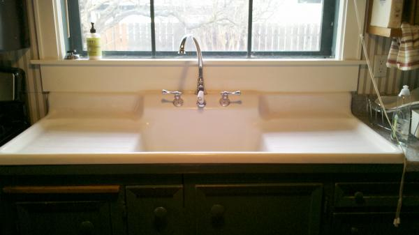Double Sink Kitchen Size
