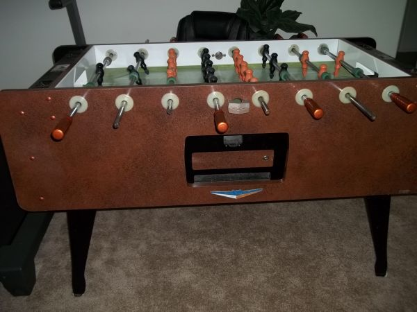 Vintage Irving Kaye Quot Super Soccer Quot Foosball Table Antique
