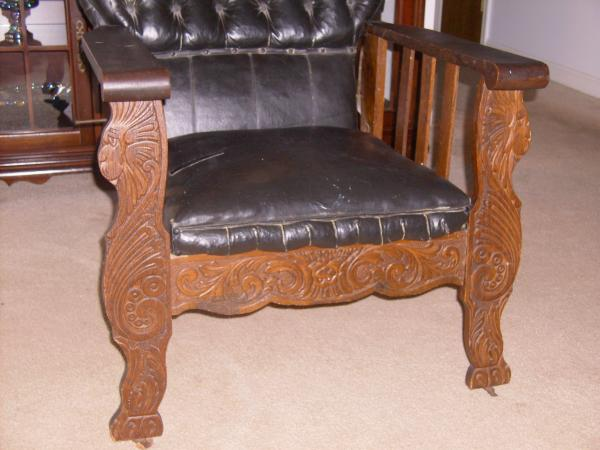 Latter 1800u0027s to early 1900u0027s Morris chair (assumed) : antique morris chair value - Cheerinfomania.Com