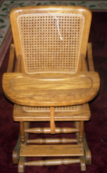 Antique High ChairRocker antique appraisal InstAppraisal