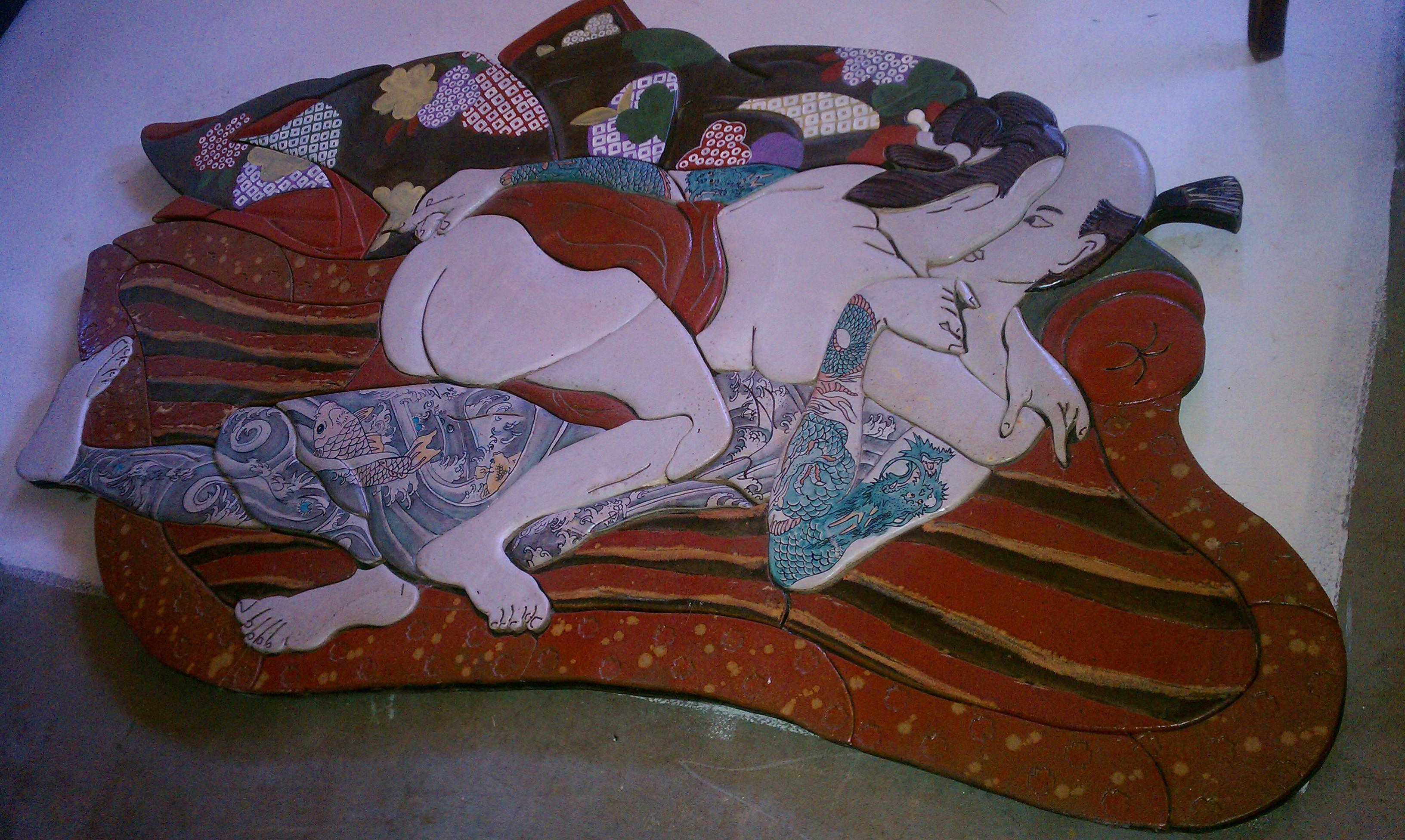 Conosciuto Vintage Japanese Shunga Erotic Art ??? Value and any info wold be  TD23