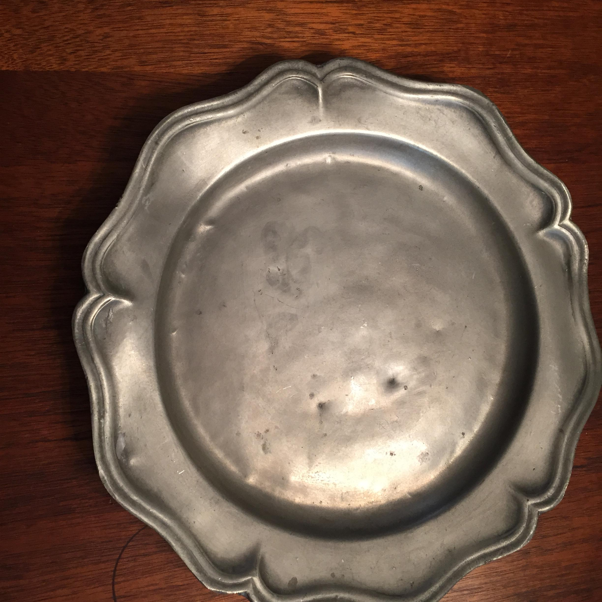 Antique Pewter Plates & Antique Pewter Plates antique appraisal | InstAppraisal