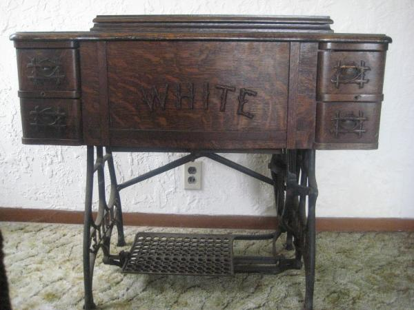 Antique White Rotary Treadle Sewing Machine Antique Appraisal Awesome Antique White Rotary Sewing Machine