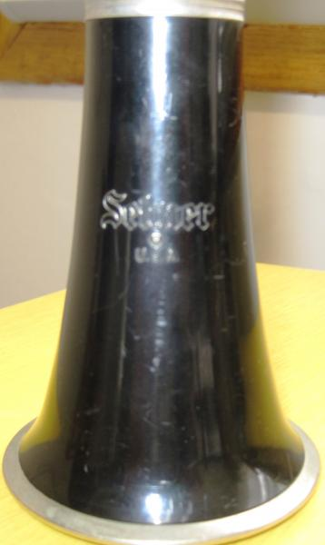 Clarinet Selmer USA 1400, Serial Number 1587388 antique