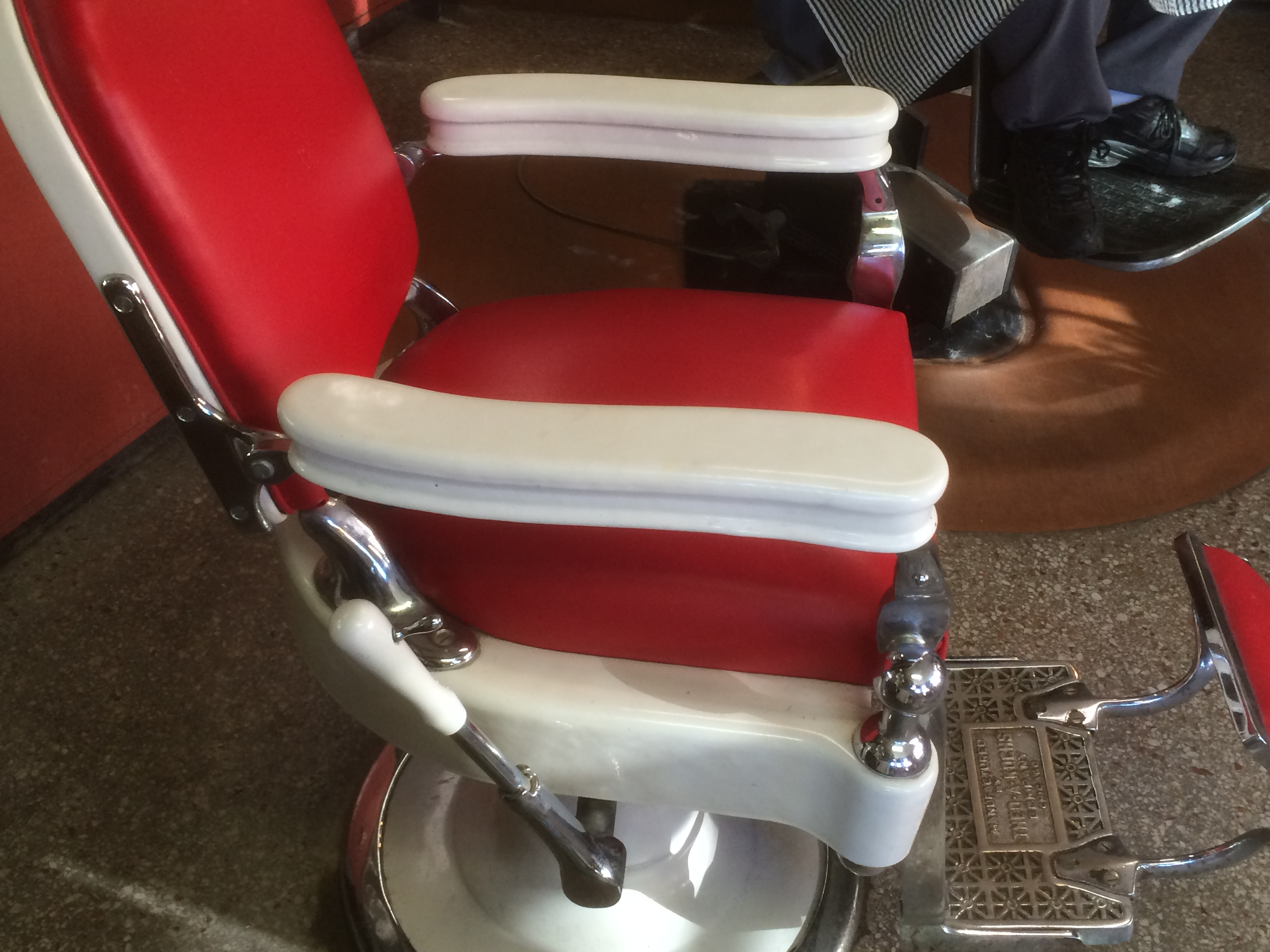 Theo A Kochs Barber Chair