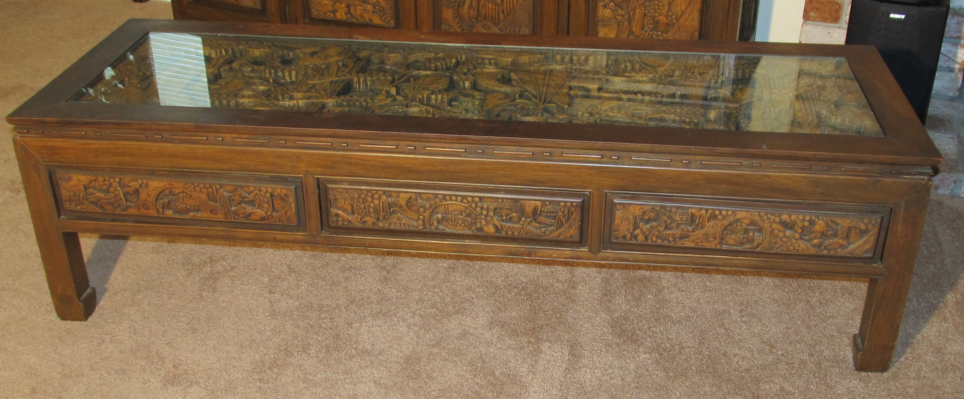 Chinese Carved Teak Furniture Antique Appraisal Instappraisal