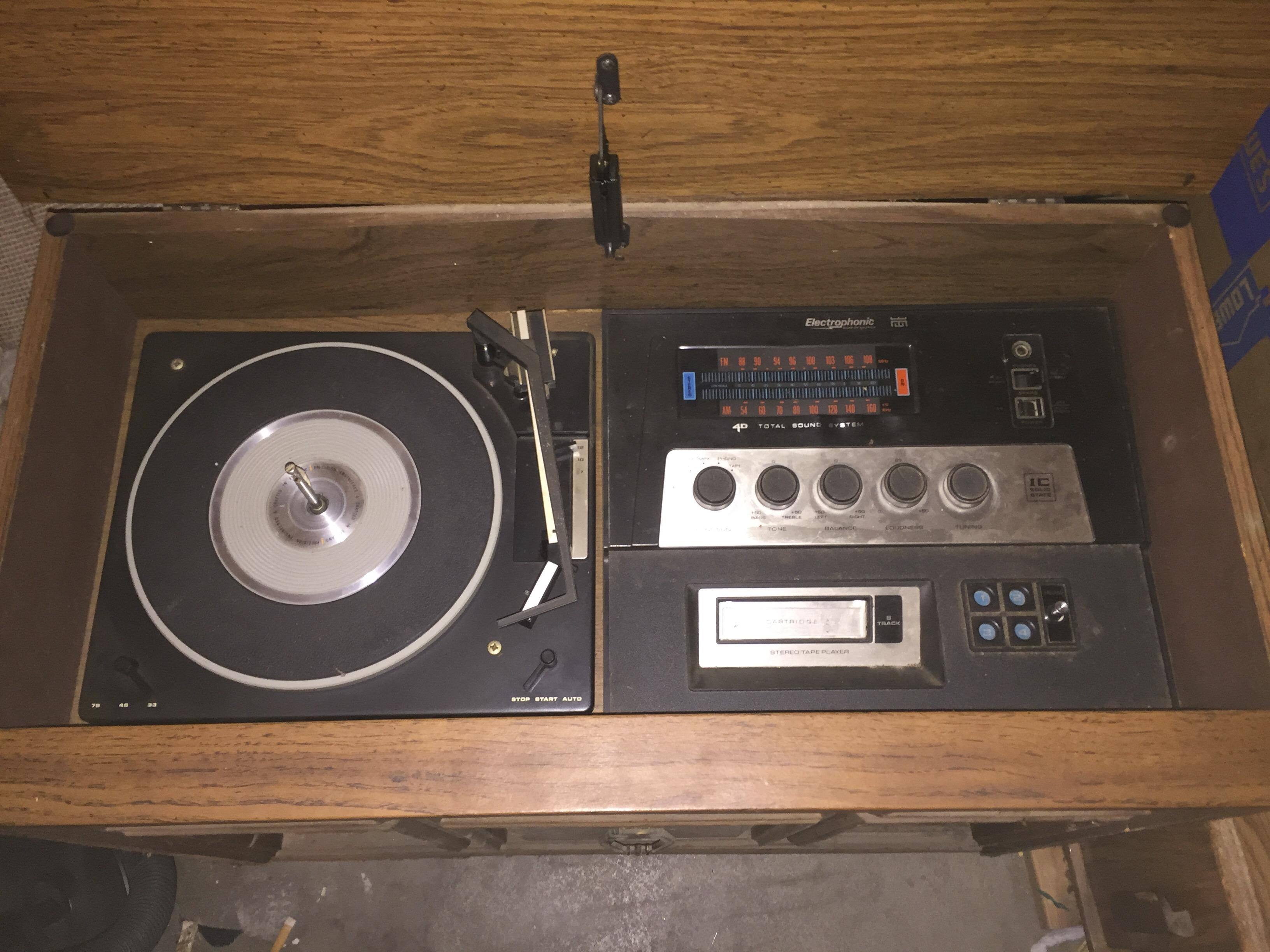 Antique Electrophonic Console Stereo Antique Appraisal