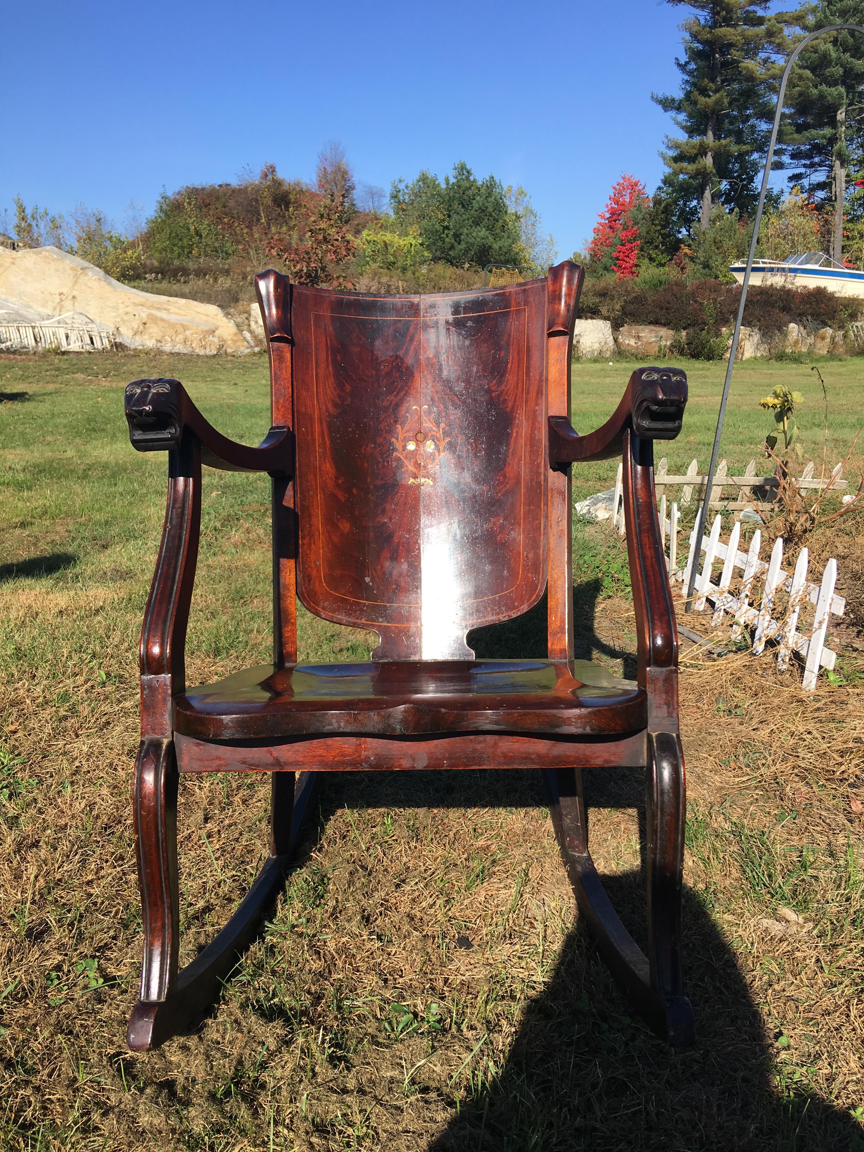 Paine Rocking Chair Antique Appraisal Instappraisal