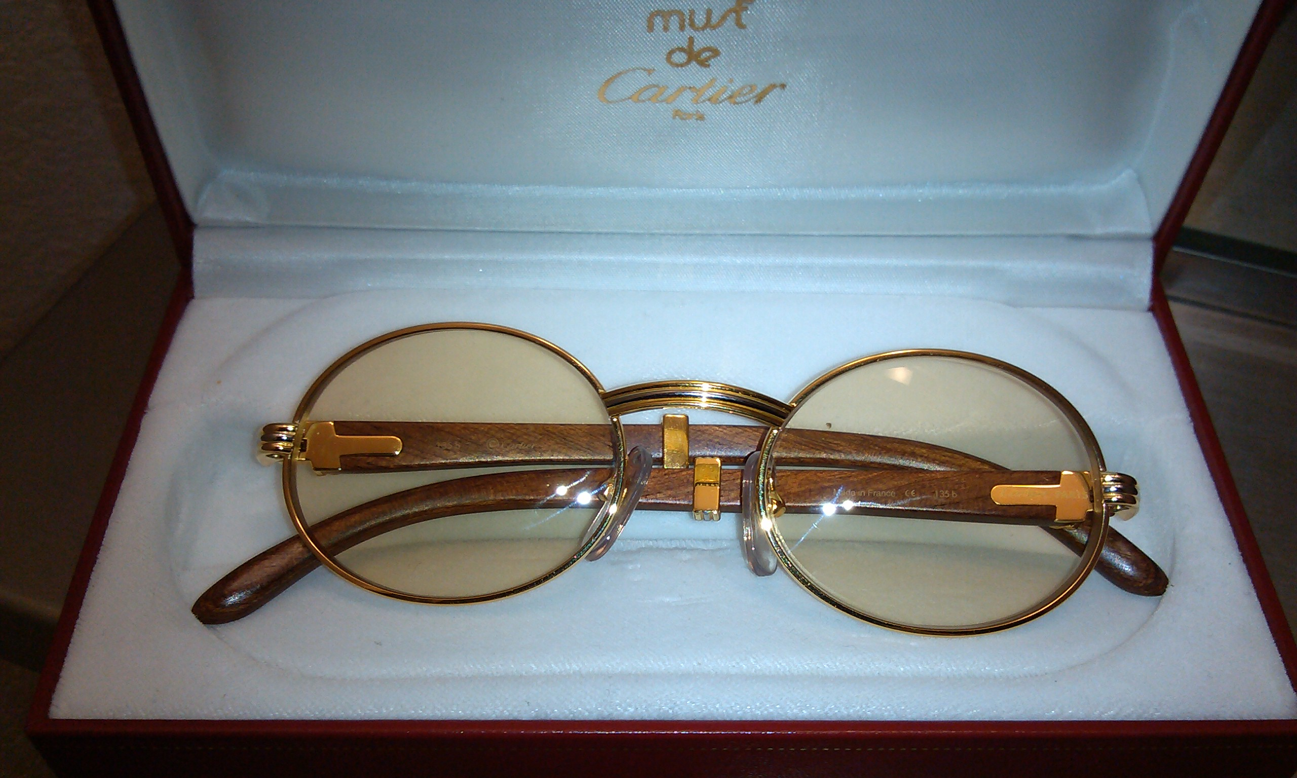 Rare cartier giverny glasses antique appraisal | InstAppraisal