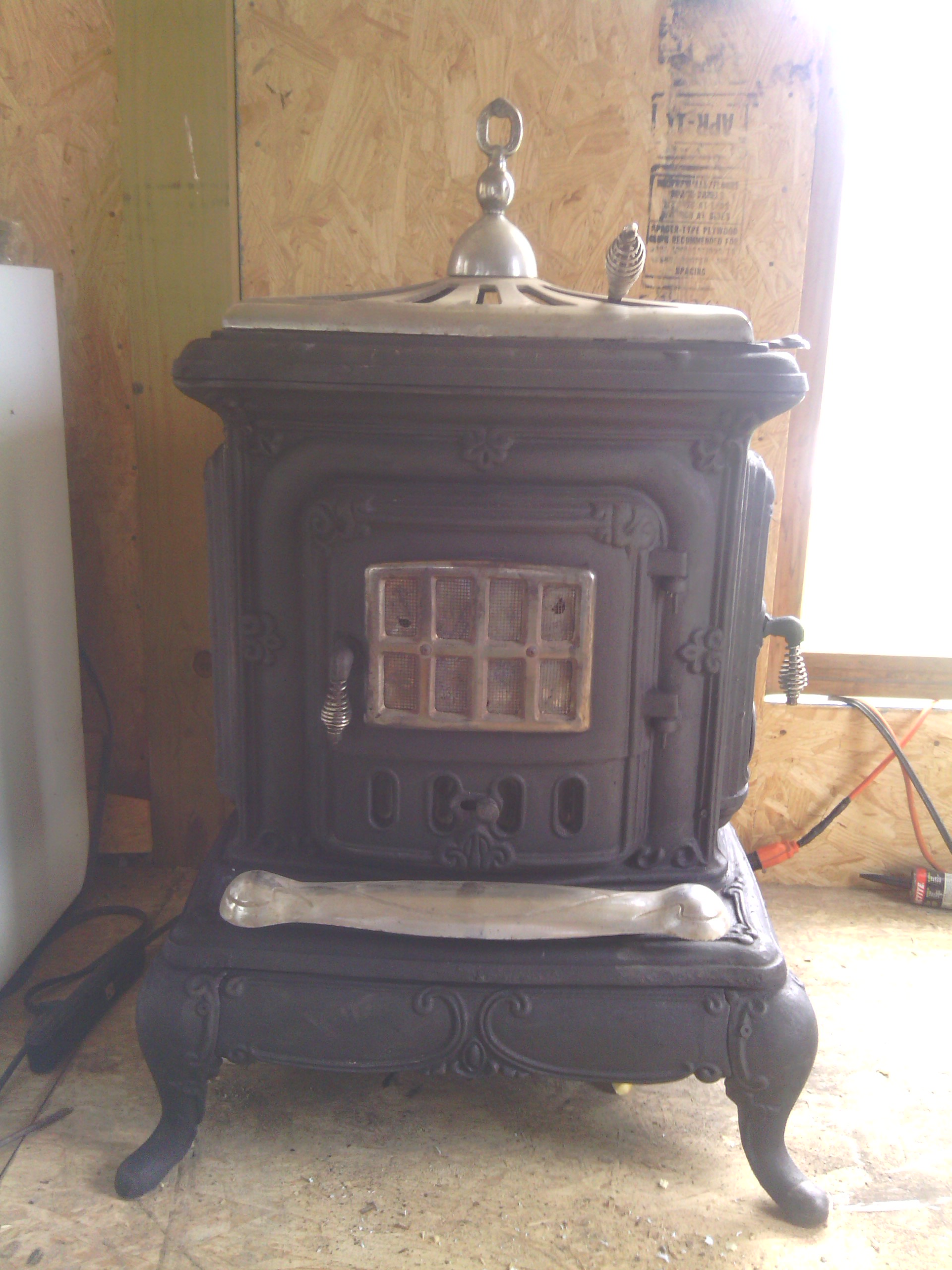 Vintage Wood Stove Antique Appraisal InstAppraisal