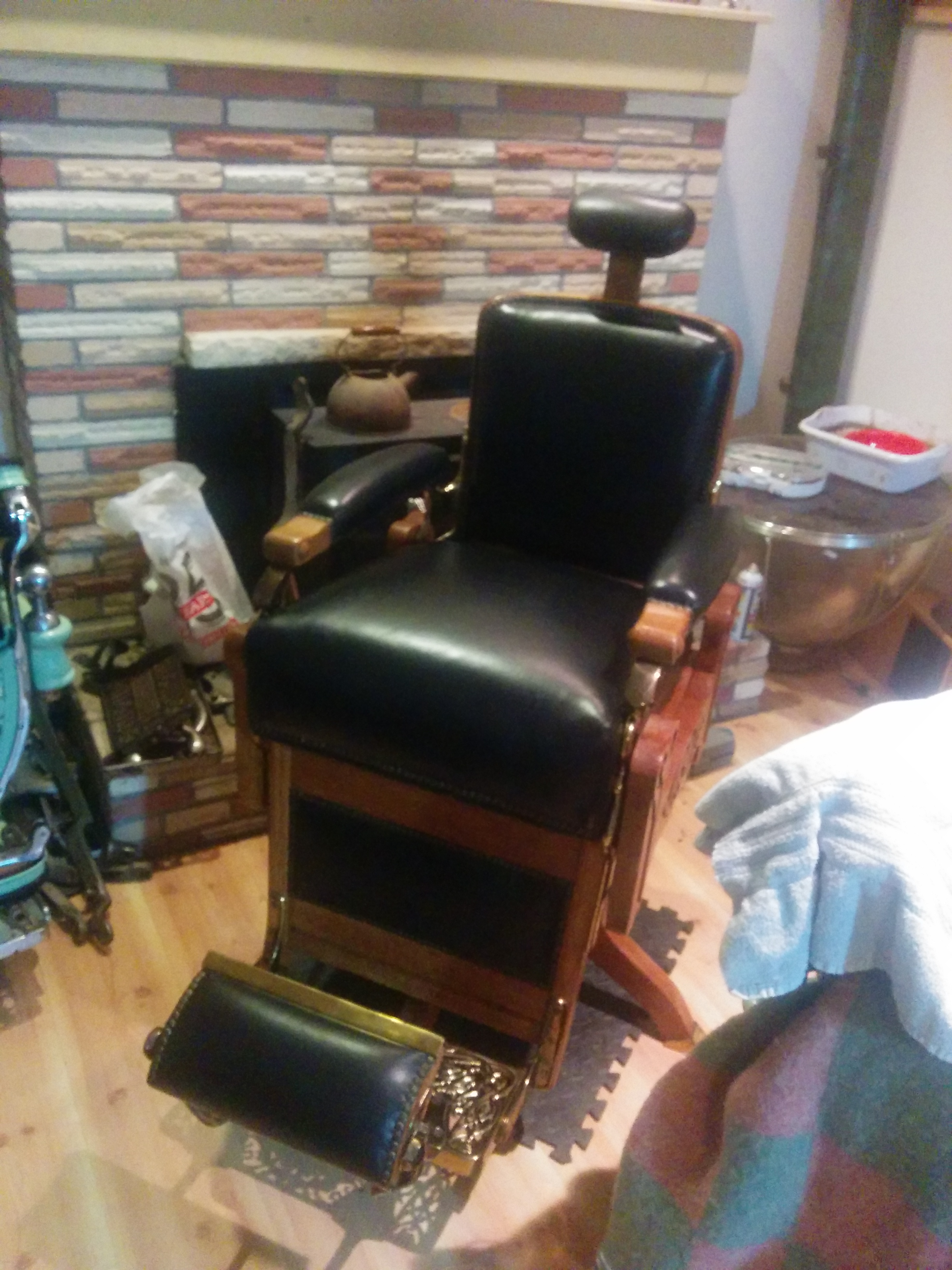 for stunning fixed prchairantiquekokenshoparmrestrhmariellegreencompr chair pict awesome hydrolic schematic barber vintage styles picture trend and ideas of koken