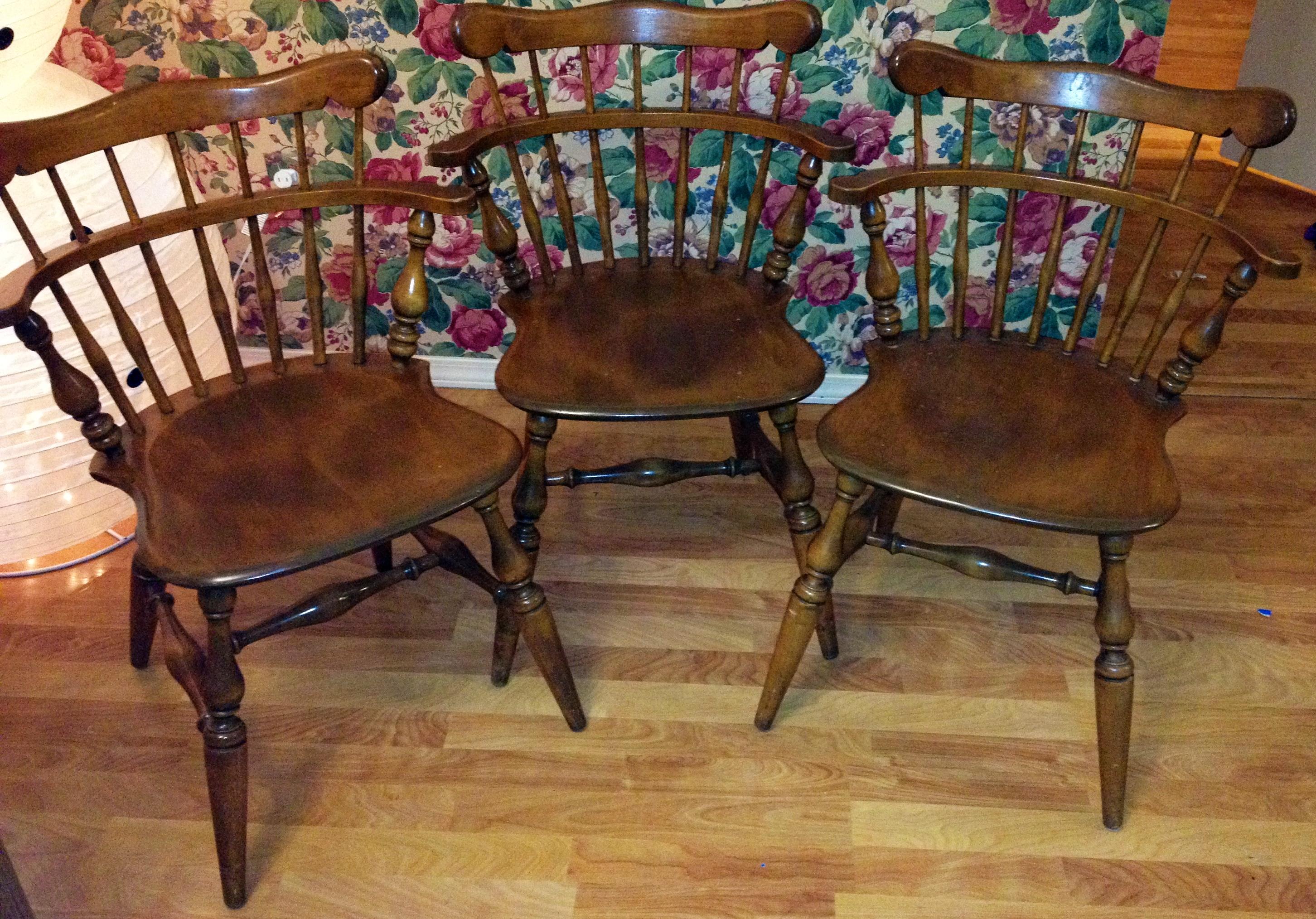 Ethan Allen By Baumritter Chairs  3