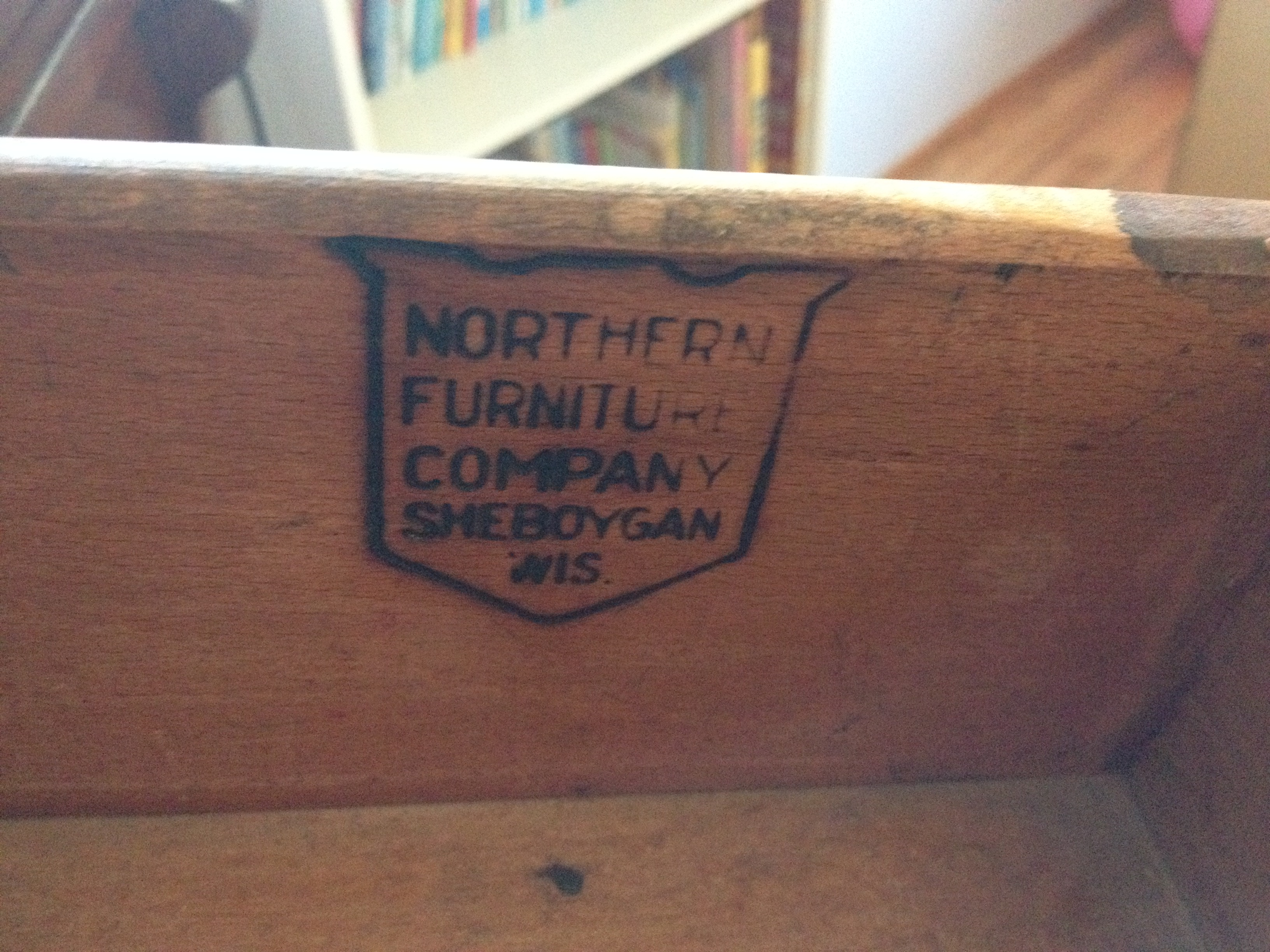 Wonderful Northern Furniture Company Dresser (Sheboygan, Wisconsin)
