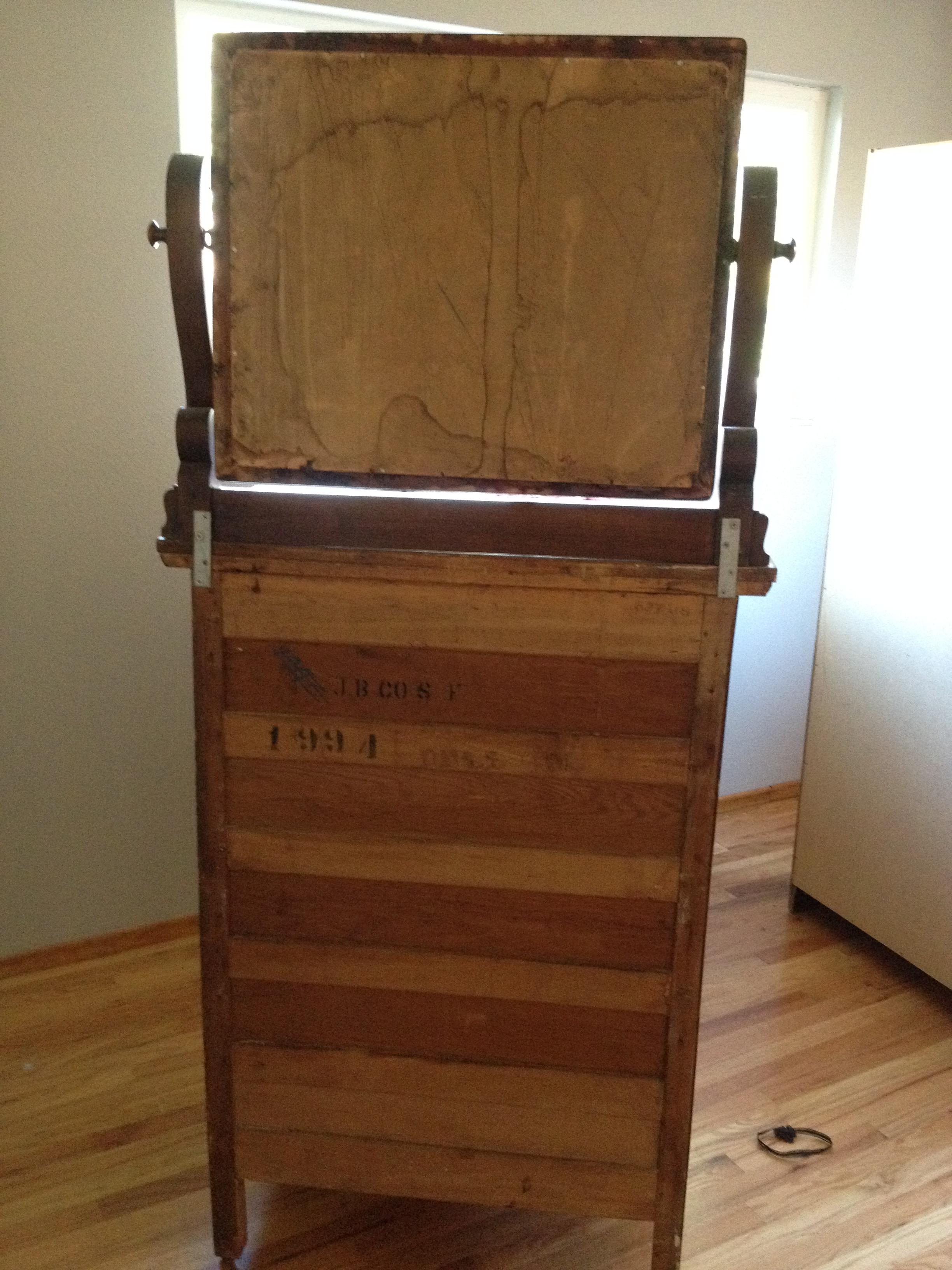 Northern Furniture Company Dresser Sheboygan Wisconsin Antique Appraisal Instappraisal