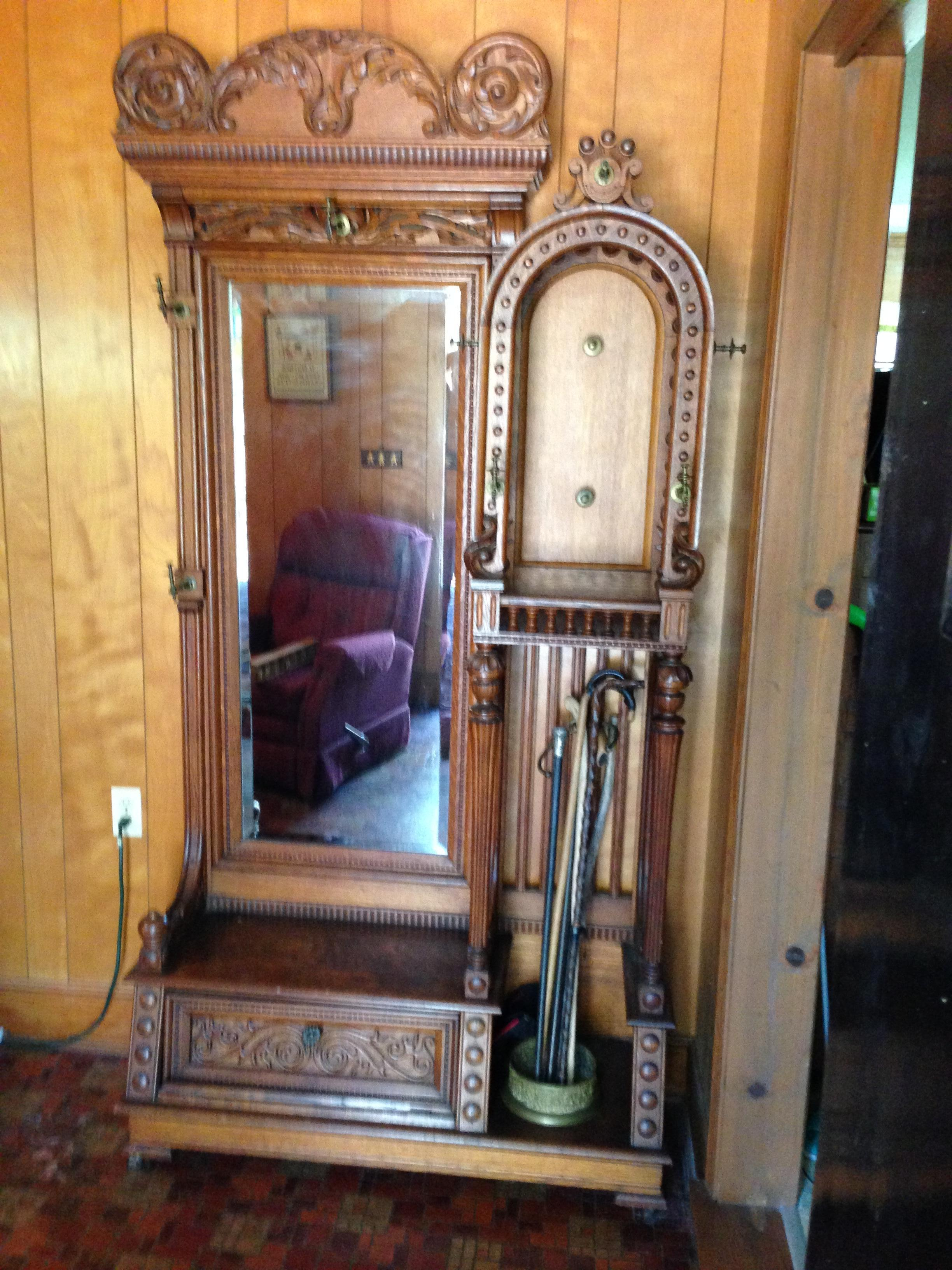 Antique Hall Tree Antique Appraisal Instappraisal
