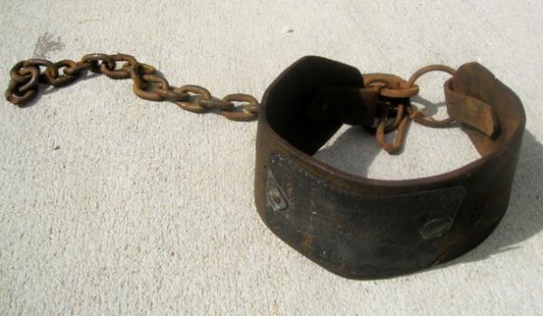 1854 Slave Collar