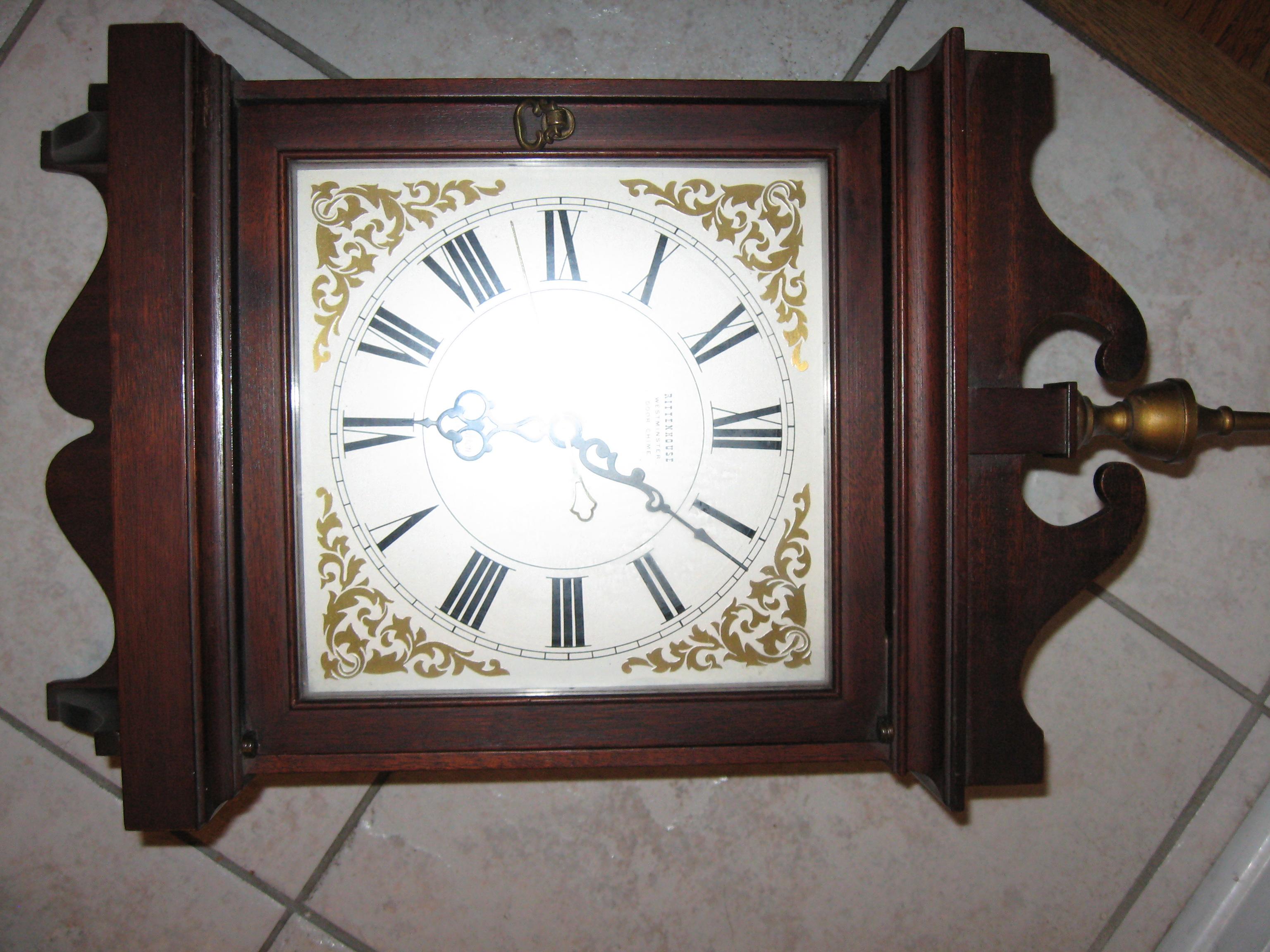 Incroyable 1950u0027s Vintage Rittenhouse Westminster Clock Door Chime Model 633