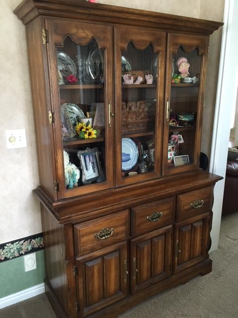 Cochrane solid oak dining room set antique appraisal ...
