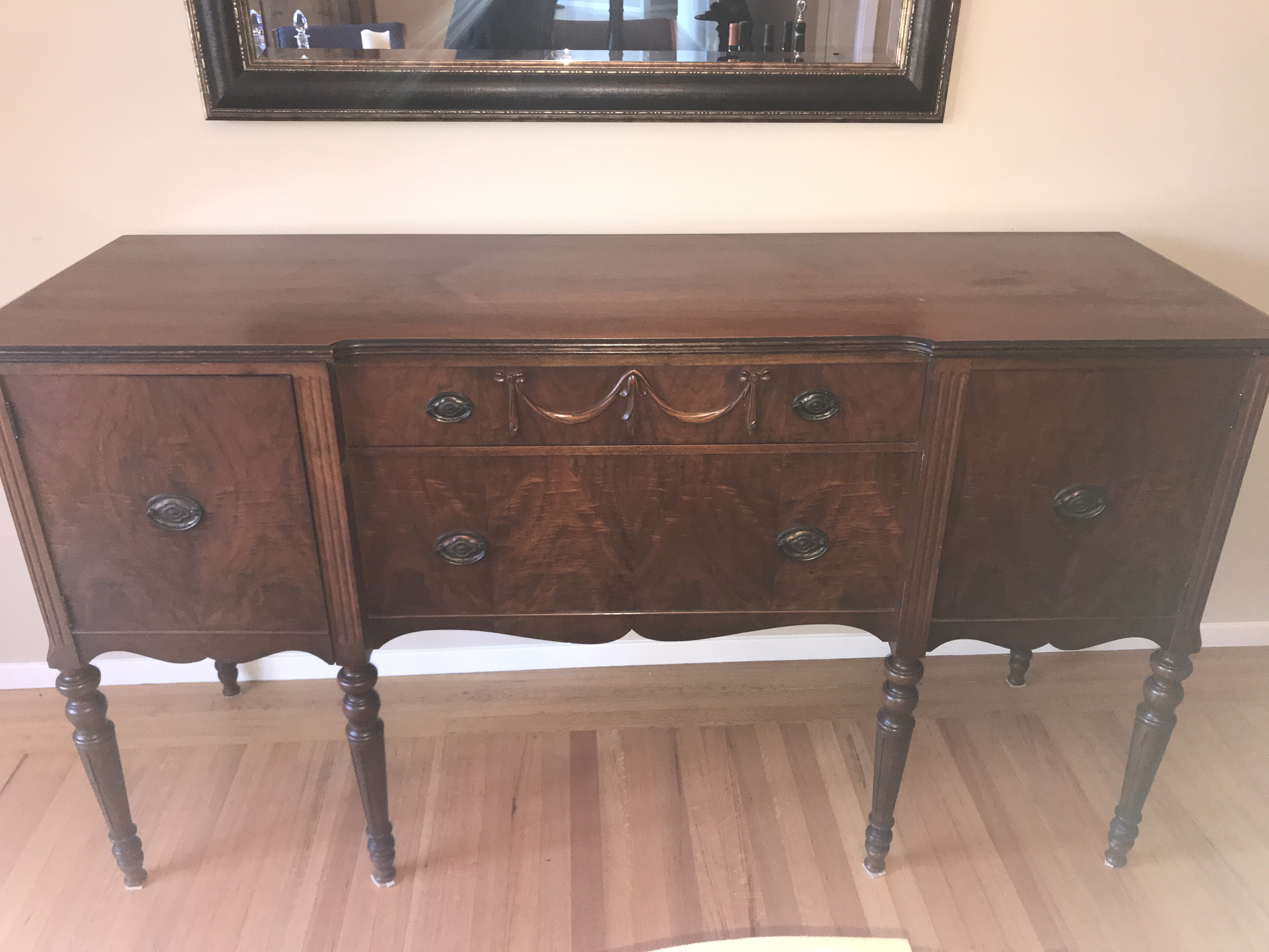 How To Value A Rockford Republic Furniture Company Buffet Antique