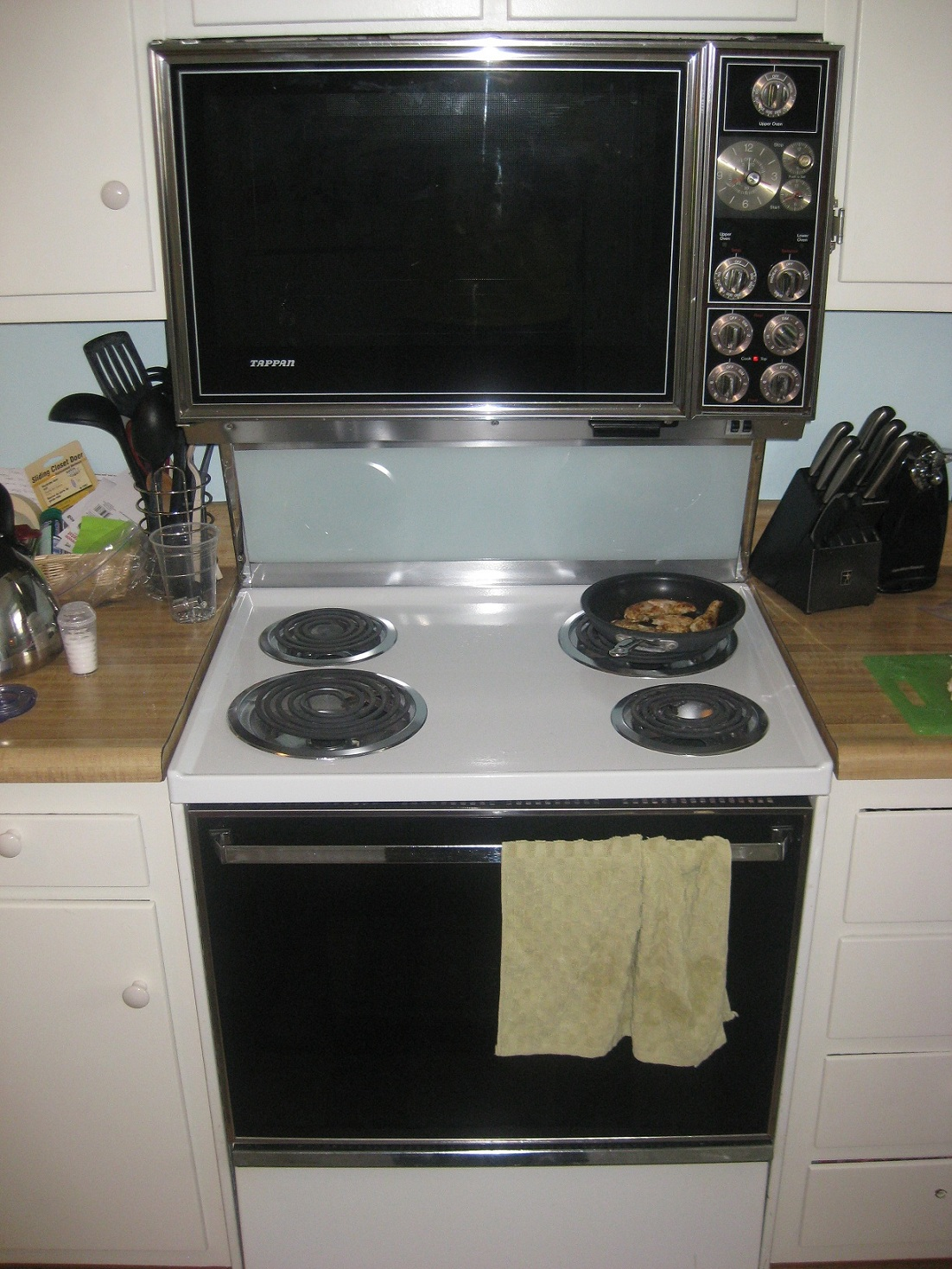 Tappan Built In Ovens Electric ~ S tappan double oven with range antique appraisal