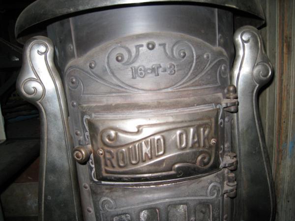 Round Oak Pot Belly Wood Burning Stove Antique Appraisal
