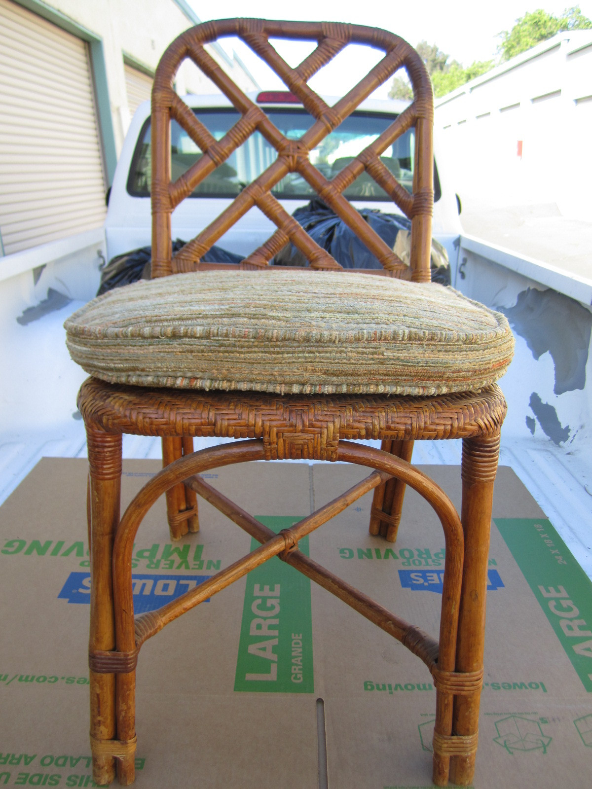Picture of: Antique Vintage Bamboo Rattan Wicker Dining Chair Antique Appraisal Instappraisal