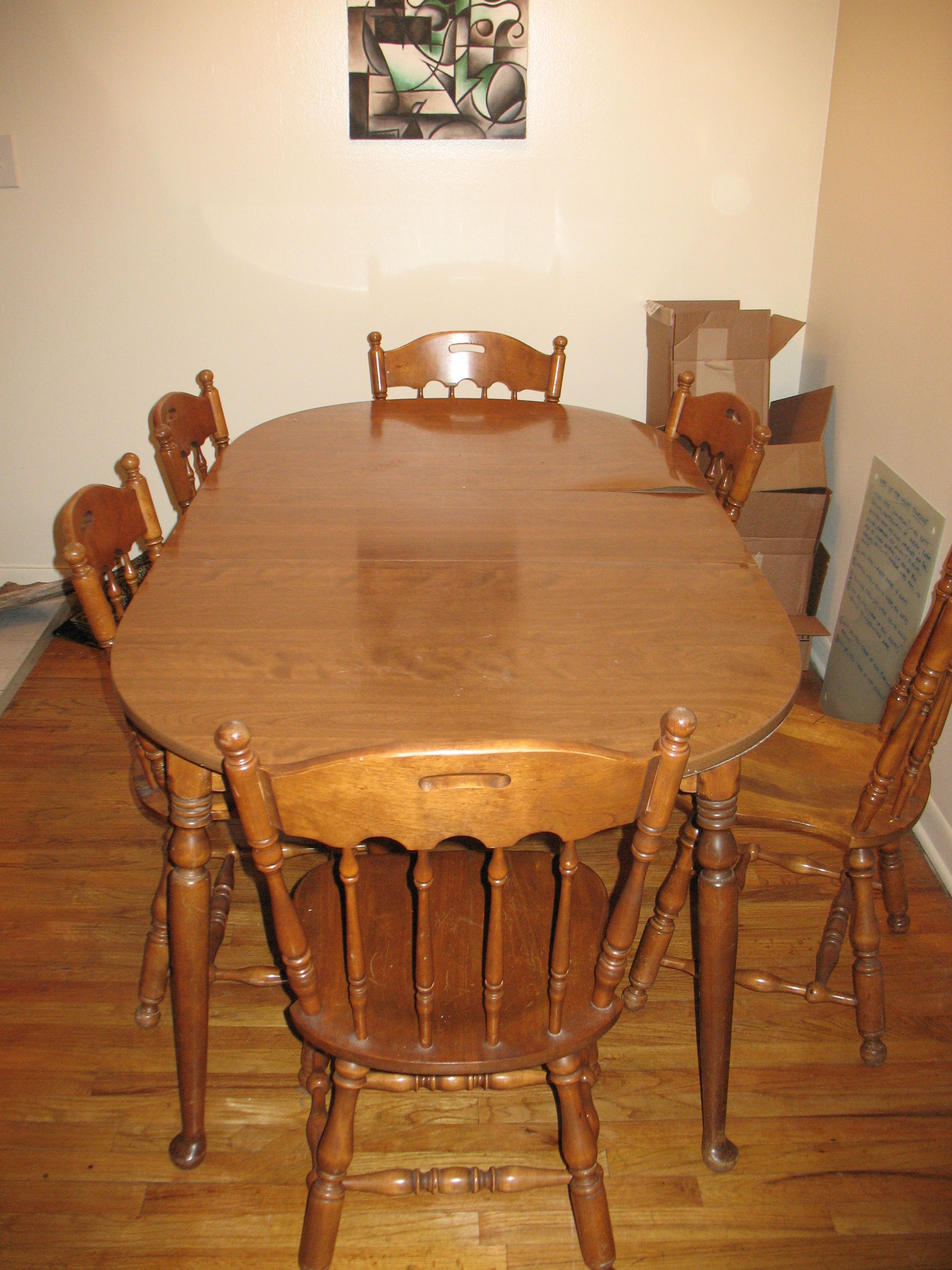 ethan allen table set> OFF 9