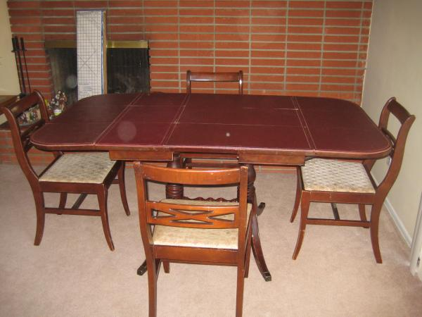 duncan phyfe dining room table Meet