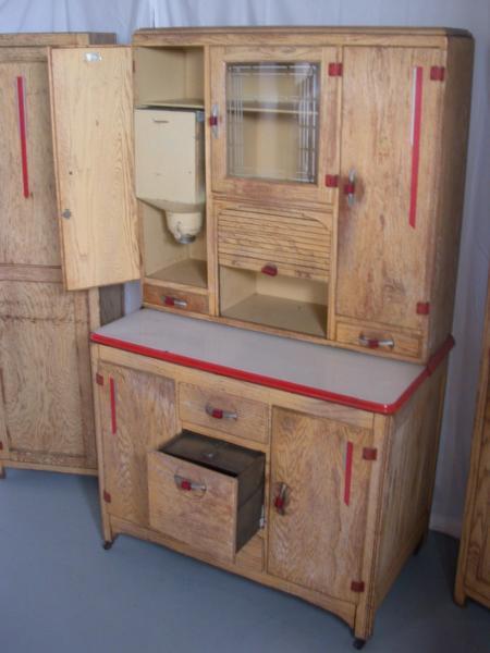 Vintage Hosier Kitchen Cabinet Set antique appraisal   InstAppraisal