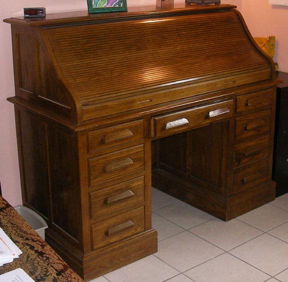 Merveilleux 1969   Jasper Cabinet Model RT684 Americana Roll Top Desk