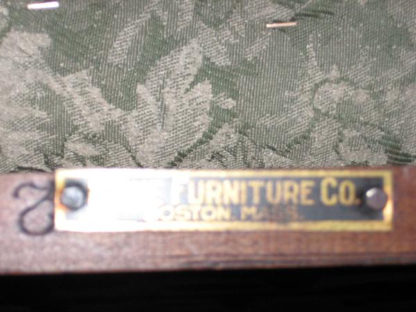 Paine Furniture Co Dining Table With 6 Chairs Boston Mass