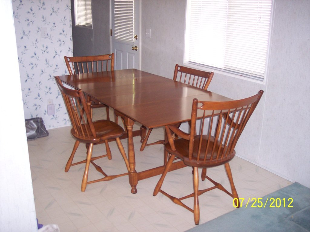 Fabulous 1950S Sprague And Carleton Solid Maple Dining Room Set Ibusinesslaw Wood Chair Design Ideas Ibusinesslaworg