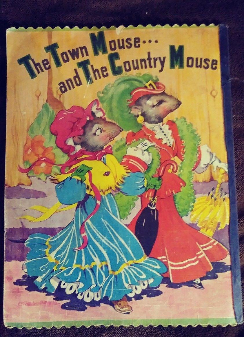 Vintage Childrens Book Town Mouse And Country 1st Edtion The Appraisal