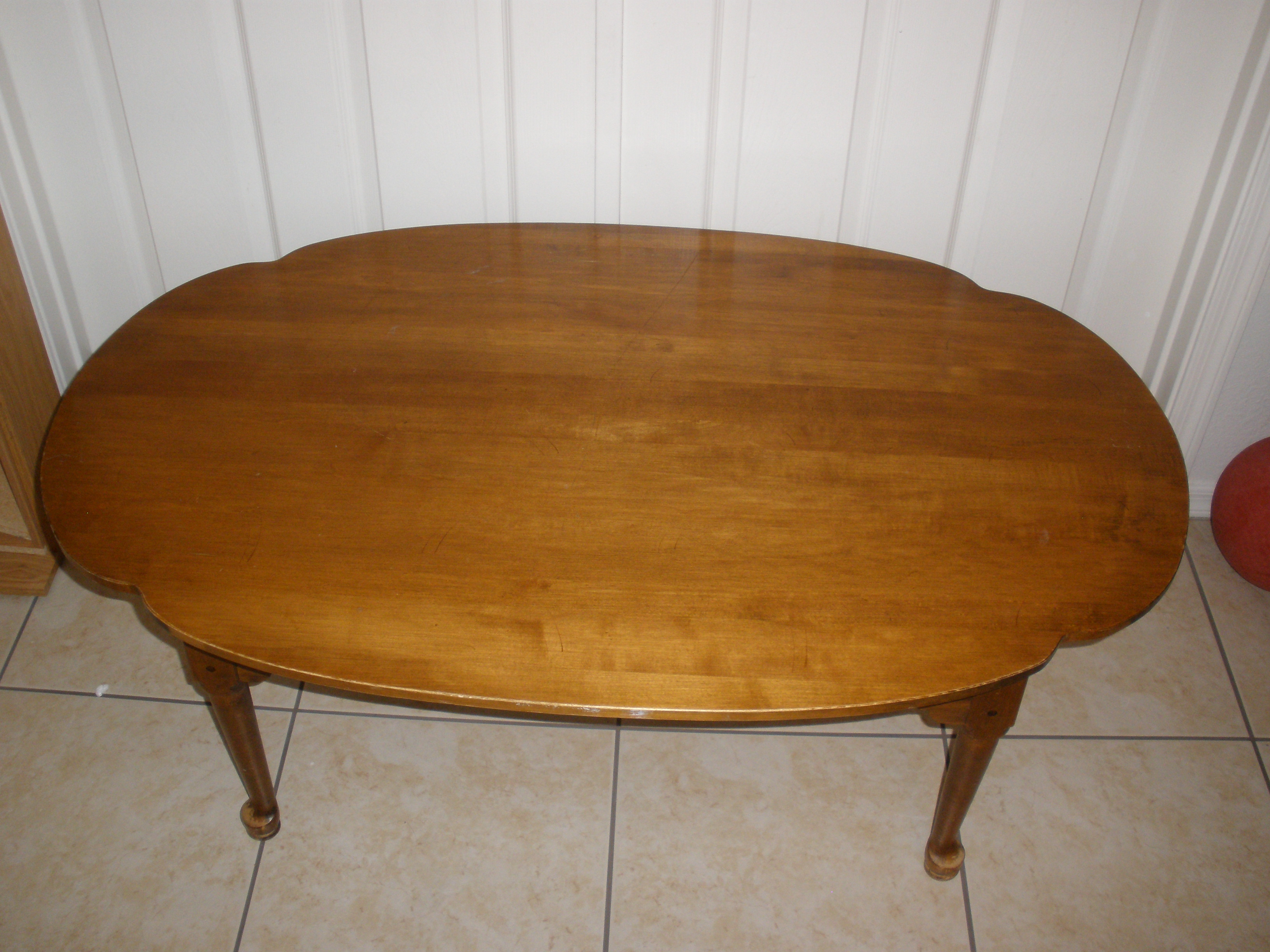 Superb Ethan Allen Oval Coffee Table Rascalartsnyc