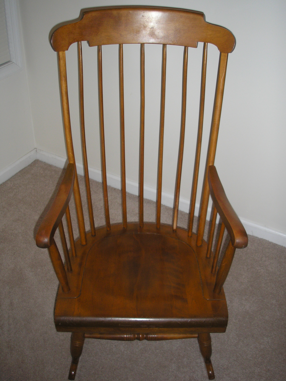 Nichols u0026 Stone rocking chair & Nichols u0026 Stone rocking chair antique appraisal | InstAppraisal