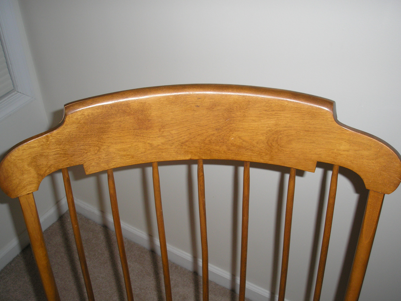 Nichols Amp Stone Rocking Chair Antique Appraisal