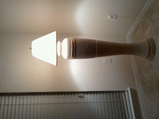 Ceramic vase shaped floor lamp antique appraisal instappraisal ceramic vase shaped floor lamp mozeypictures Images