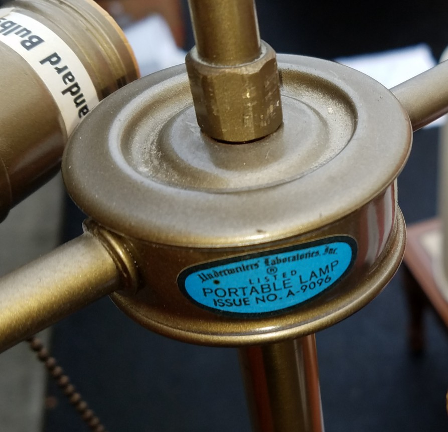Stiffel Floor Lamp Antique Appraisal