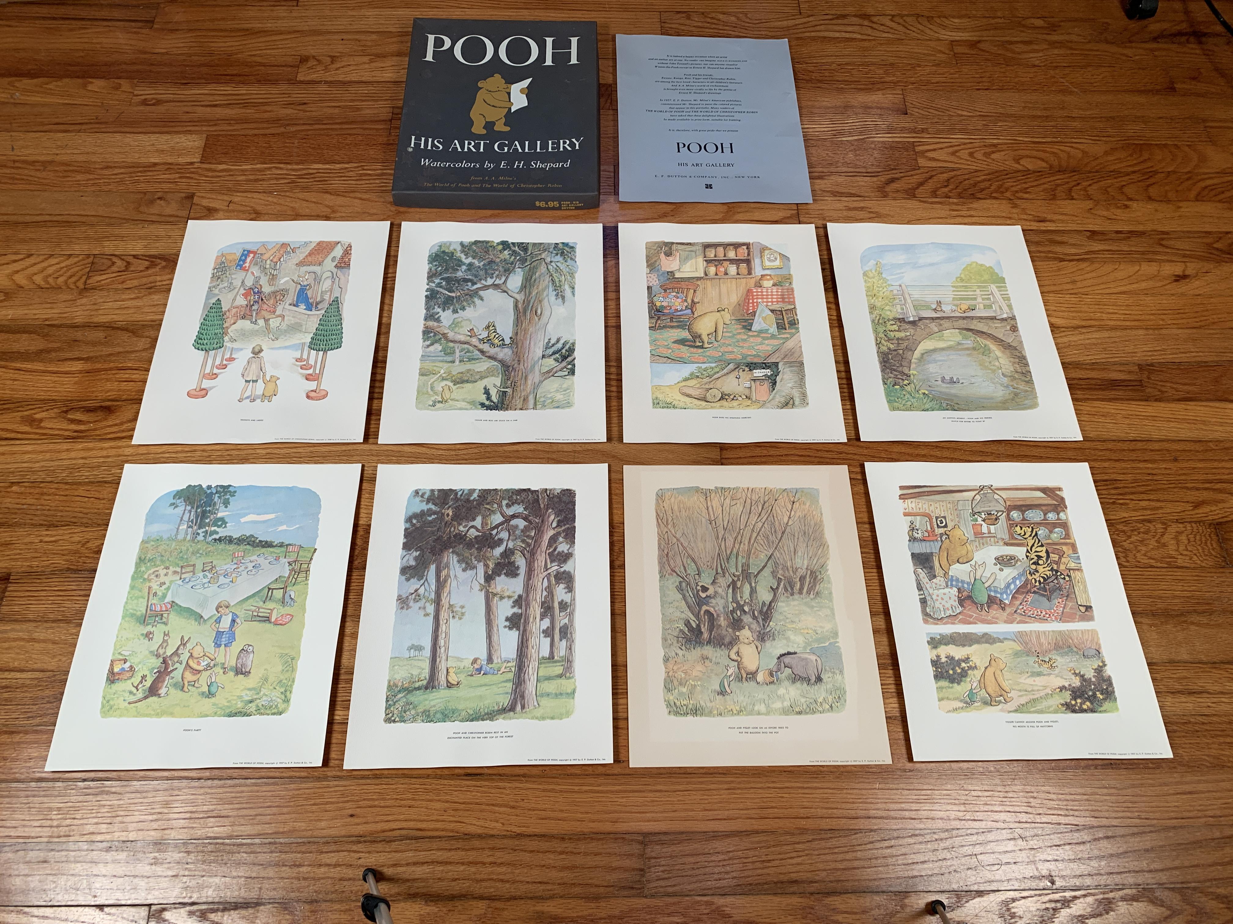Get Framed Winnie The Pooh Prints
